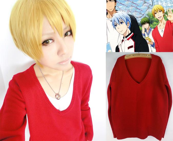 黄瀬涼太 赤のセーター コスプレ衣装