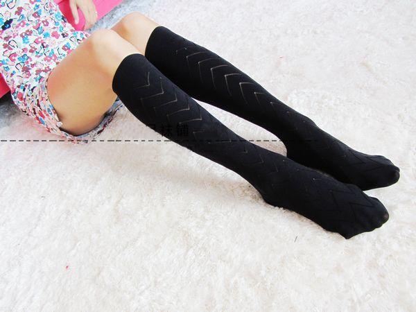 靴下 靴下 通販 激安 : 学院風 ハイソックス 靴下 黒い ...