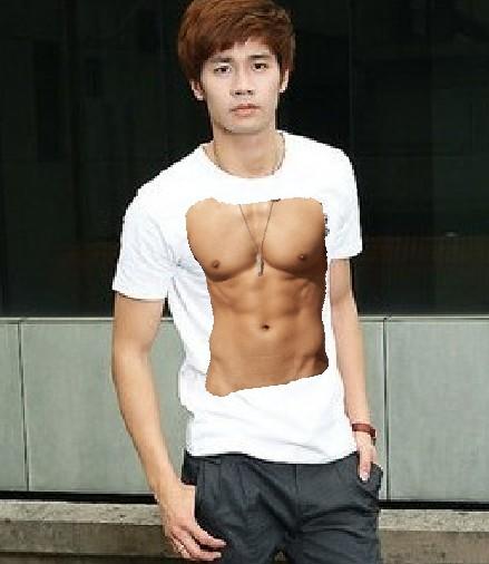 筋肉Tシャツ