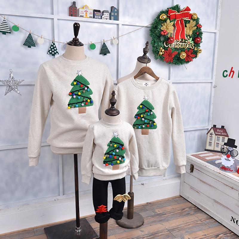 クリスマスカーバ 親子服