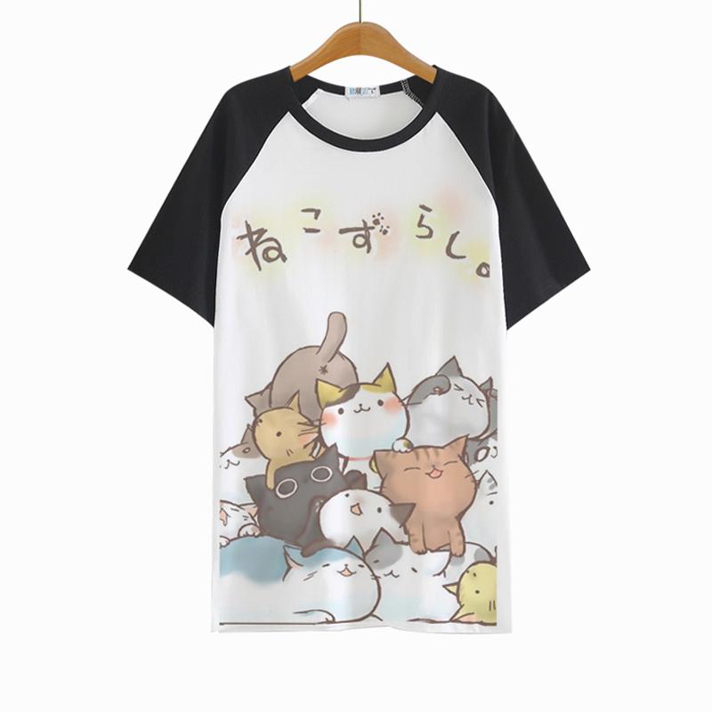 日常風 ネコ 猫Tシャツ