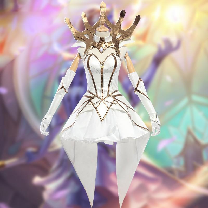 ラックス (Lux) 光の少女 光明 暗黒 コスプレ