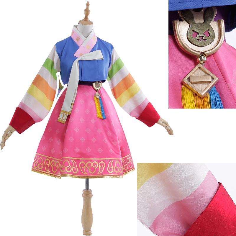 ハナ・ソング オーバーウォッチの旧正月 韓服