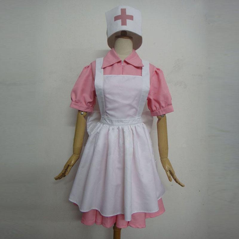 Nurse Joy ジョーイさん ナース エプロン付きコスプレ