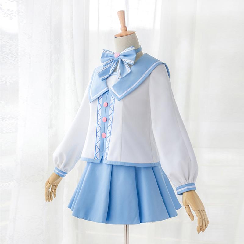 木之本桜 さくら セーラー風 コスプレ衣装
