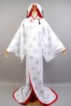 【Vocaloid】2013雪ミク いちご白無垢 花嫁和服 コスプレ衣装