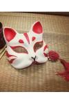 和風手作り 玉面狐のお面 マスク 仮面 激安コスプレ道具小物 モノノ怪