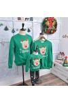 クリスマスカーバ 親子服 クリスマス鹿柄 2色選択可能 クリスマスコスプレカーバ
