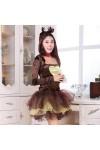 ハロウィン 仮装 小鹿ドレス クリスマス イベント パーティーコスチューム