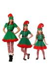 クリスマスコスプレ精霊 ハロウィン 舞台服 成人 ガール 仮装 コスチューム