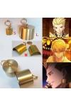 Fate/Grand Order ゲート・オブ・バビロン ギルガメッシュ Caster コスプレ道具 イアリング ピアス 金色