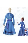 Disney ディズニー アナと雪の女王2 Frozen 2 アナ ブルー コスプレ衣装