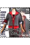 ヒプノシスマイク -Division Rap Battle- 山田 一郎 コスプレ衣装 赤 ジャケット
