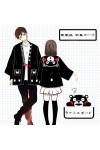 既製品!くまモン kumamon 和風コート カップル衣装 日常用 コスチューム