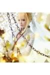 Fate/EXTRA Saber フェイト セイバーウェディングドレス 花嫁 コスプレ衣装 豪華セットコスチューム