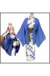 FGO Fate/Grand Order 3周年記念 英霊旅装:玉藻の前 浴衣 コスプレ衣装