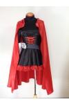 RWBY Red Trailer Ruby/Ruby Rose コスプレ衣装 White Trailer パーティー コスチューム