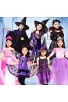 ハロウィン  ヴァンパイア コウモリ 巫女服 白雪姫 仮装 イベント パーティー ハロウィン 子供 コスプレ衣装 魔女 幼児