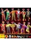 ハロウィン・Halloweenキャンディピエロ 大人気ハロウィン 仮装 衣装  大人用 ピエロ服 コスプレ衣装