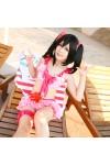 love live ラブライブ!矢澤にこ やざわにこ 水着 温泉浴 海水浴