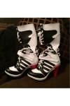 Suicide Squad スーサイド・スクワッド Harley Quinn ハーリーン・F・クインゼル / ハーレイ・クイン コスプレ靴 ブーツ