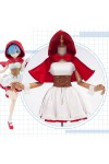 【予約商品】Re:ゼロから始める異世界生活 レム ラム 赤ずきん コスプレ衣装 クリスマス サンタ衣装
