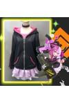 コンパス 戦闘摂理解析システム メグメグ 日常風 コスプレ衣装 ピンク