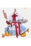 夢幻>東方幻想郷 アリス·マーガトロイド 東方Project コスプレ衣装 ハロウィン 魔女風 スカート ゴスロリ