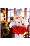 Re:ゼロから始める異世界生活   レム クリスマス ドレス 赤 コスプレ衣装