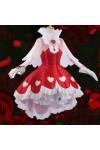 カードキャプターさくら  木之本桜 薔薇  スカート ドレス ハート