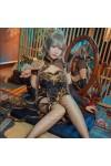 VOCALOIDボーカロイド洛天依(ルオ.テンイ)チャイナドレスコスプレ衣装
