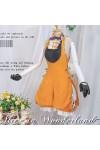 ボーカロイド VOCALOID 鏡音リン 「不思議の国のアリス」 コスプレ衣装 コスチューム