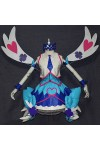 遊☆戯☆王VRAINS 財前葵 ブルーエンジェル セット ブルー コスプレ衣装
