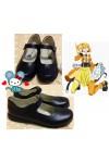 カゲロウプロジェクト モモ 靴 メカクシ団 如月桃(きさらぎ もも) 如月モモ コスプレ靴 ブーツ