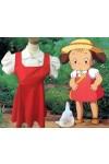 宮崎駿 となりのトトロ 草壁メイくさかべめい コスプレ衣装 変装 コスチューム