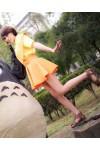 宮崎駿 となりのトトロ 草壁サツキ くさかべさつき コスプレ衣装 変装 コスチューム 草壁さつき