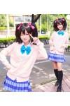 ラブライブ! 夏制服 ピンクセーター コスプレ衣装 コスチューム 送料無料
