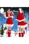 レディースクリスマス コスチューム 赤ずきん クリスマス 衣装 パーティー用 ハロウィン/聖夜パーティー/コスプレ/Merry Christmas/赤ずきん 風/COSPLAY 変装