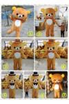 リラックマ人形 コリラックマ人形 rilakkuma 人気アニメクマ人形舞台衣装 プロポーズコスチューム
