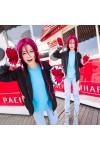 Free!(フリー) 松岡 凛(まつおか りん) フカ運動服 パーカー コスプレ衣装