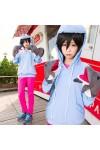 Free!(フリー) 七瀬 遙(ななせ はるか) イルカ運動服  パーカー コスプレ衣装