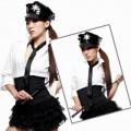 ポリエステル 警察官制服 4点セット衣装