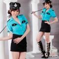 誘惑系 ポリエステル 警察官制服 3点セット衣装