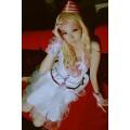 CosplayマクロスF・ランカ・リー・サヨナラノツバサ・ウェディングドレス衣装