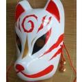 狐のお面 仮面 マスク 美品★新作入