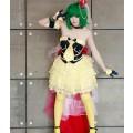 マクロスF 劇場版 恋離飛翼  サヨナラノツバサ  ランカ リー コスプレ衣装 最終衣装