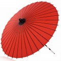 赤の傘 和傘 番傘 紙傘 コスプレ道具