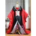 XXXHOLIC 壱原侑子(いちはら ゆうこ) 高品質着物 赤と黒 コスプレ衣装