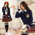 激安学生服コスチューム 女子高生 制服  上下セット 4点セット  コスチューム学生服/女子学生制服/制服
