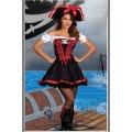 海賊風 オフショルダー セクシーコスチューム衣装